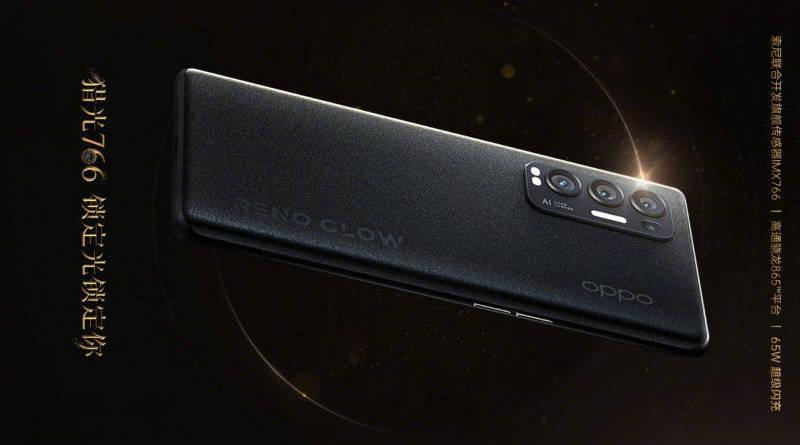 Oppo Reno 5 Pro Plus aparat Sony IMX 766