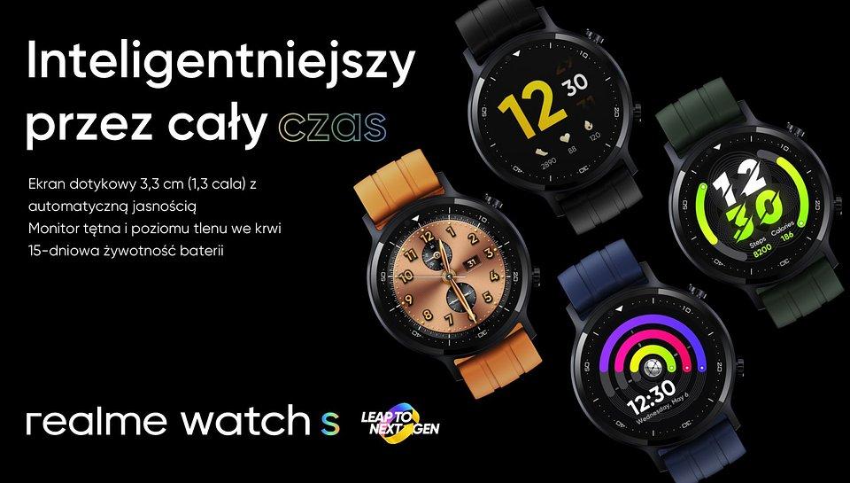 Realme Watch S cena Realme 7i cena Realme 7 5G cena kiedy w Polsce gdzie kupić najtaniej opinie