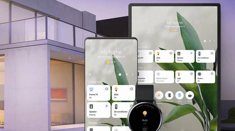 integracja Samsung SmartThings urządzenia Google Nest