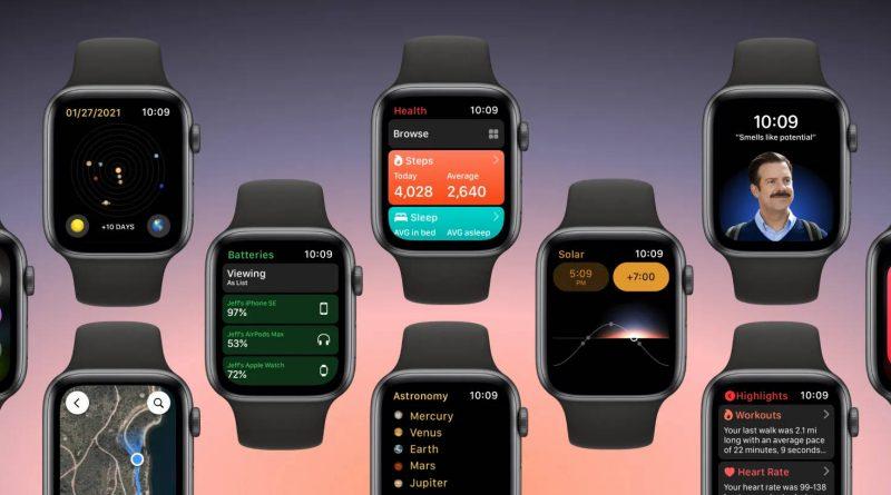 kiedy premiera watchOS 8 dla Apple Watch koncept co nowego nowości