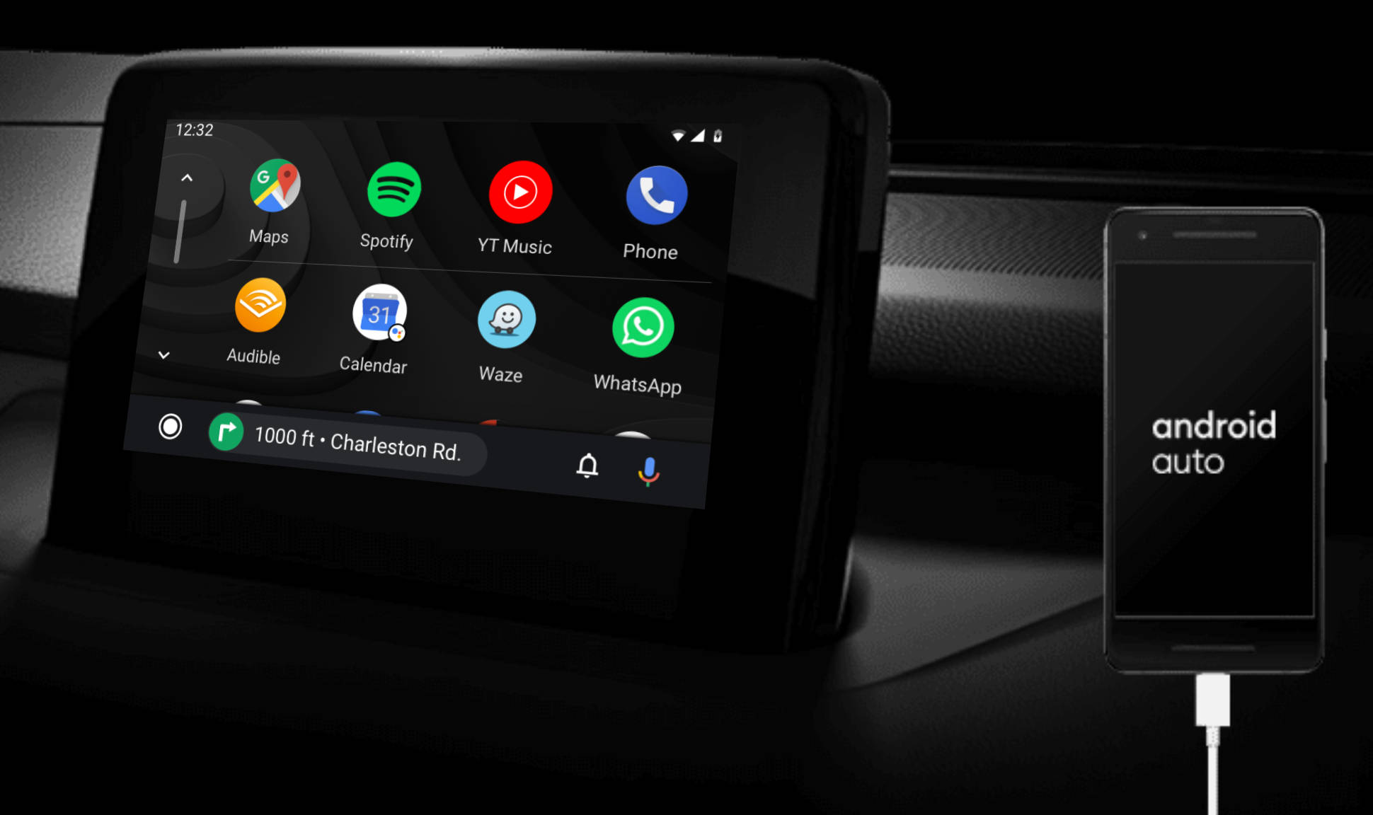 Android Auto problemy powiadomienia Asystent Google
