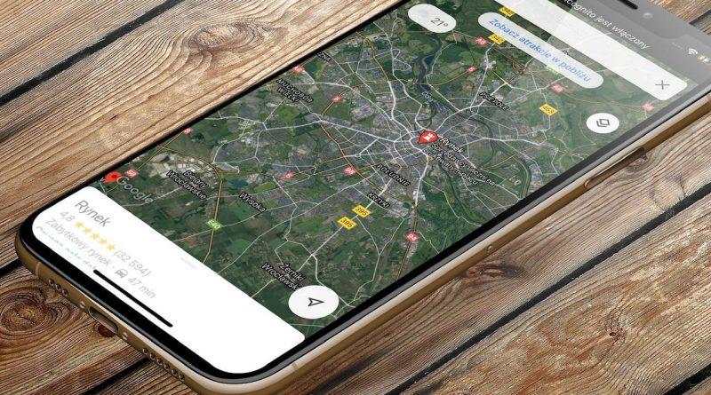 wyszukiwarka Google Maps punkty szczepień COVID-19 iOS 14.5 aktualizacja