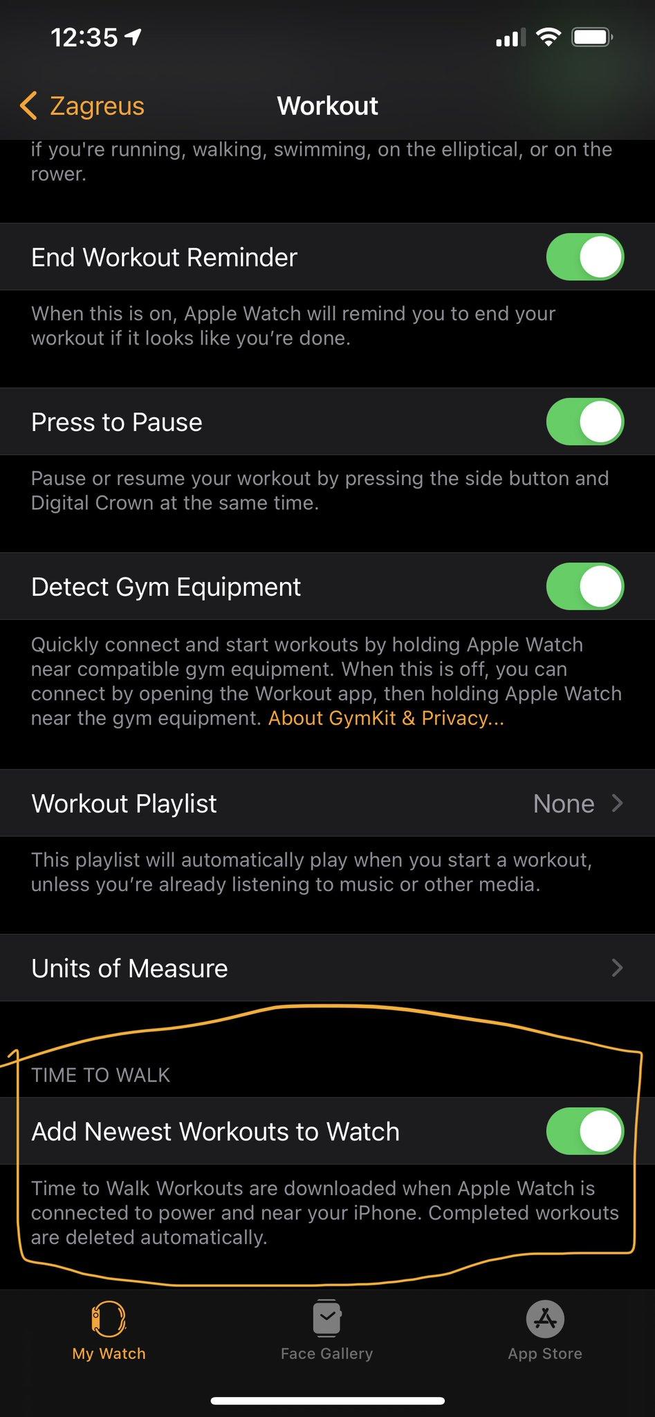 ios 14.4 beta nowość Apple Watch