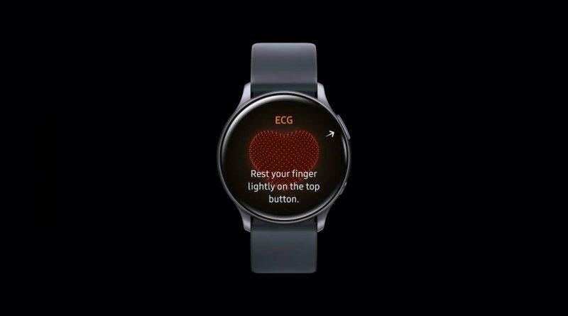 Samsug Galaxy Watch 3 Watch active 2 kiedy EKG w Polsce elektrokardiogram