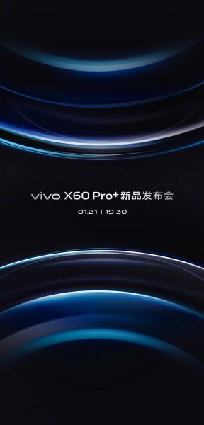 kiedy data premiery Vivo X60 Pro Plus rendery specyfikacja techniczna aparat