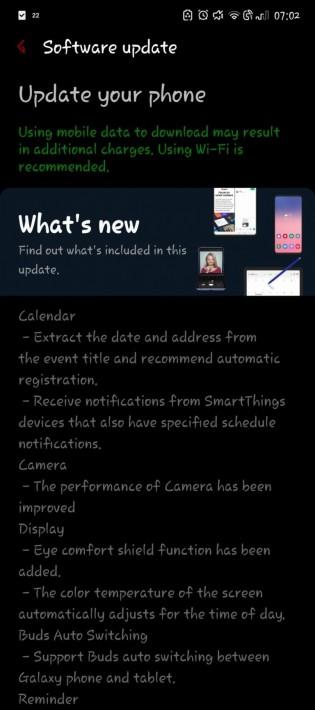 kiedy aktualizacja One UI 3.1 dla Samsung Galaxy Note 10 Plus w Polsce opinie czy warto instalować
