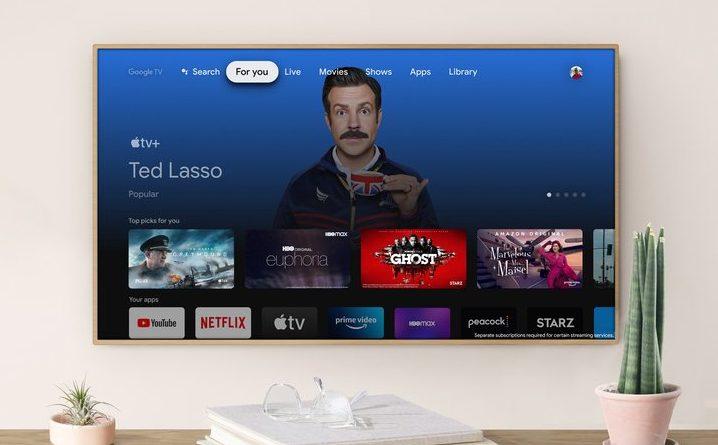 Apple TV Plus aplikacja Chromecast Google TV telewizory Android TV