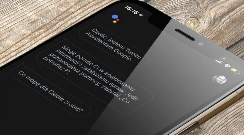 jak najszybciej włączyć Asystent Google na iOS skróty iPhone