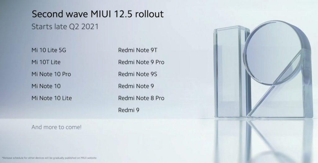 kiedy premiera MIUI 12.5 Global aktualizacja Xiaomi usługi Google testy Redmi jakie smartfony co nowego nowości