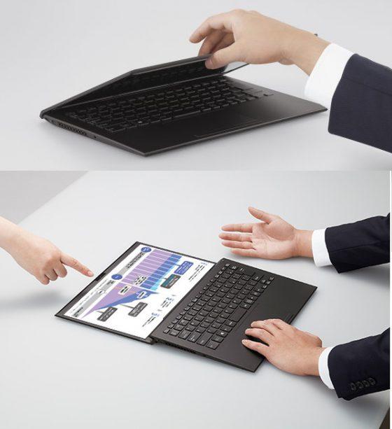 laptop VAIO Z 2021 cena opinie Intel Tiger Lake specyfikacja techniczna