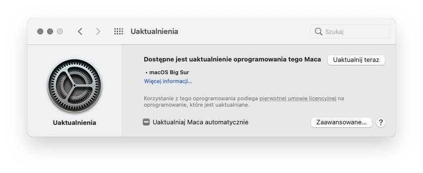 aktualizacja macOS 11.2.1 Big Sur co nowego zmiany nowości opinie czy warto instalować jak