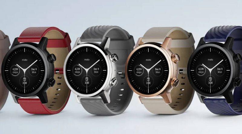kiedy smartwatche Moto Watch G One Wear OS plotki przecieki
