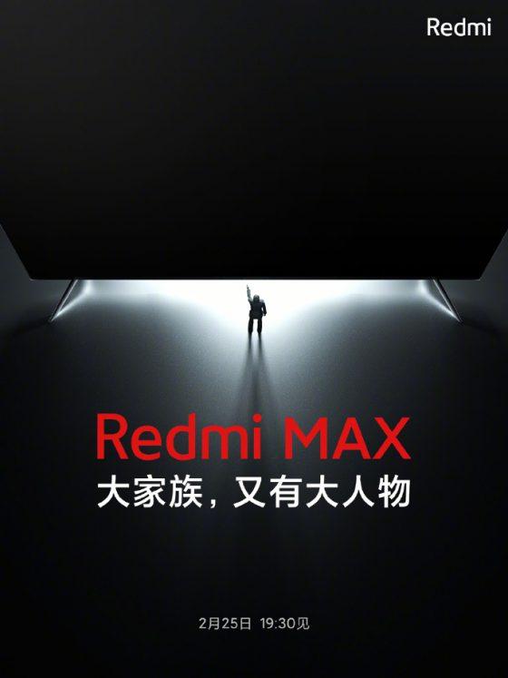 kiedy telewizor Redmi TV Max plotki przecieki Redmi K40
