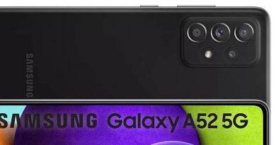 Samsung Galaxy A52 5G dostrzeżony w sklepie. Jest cena