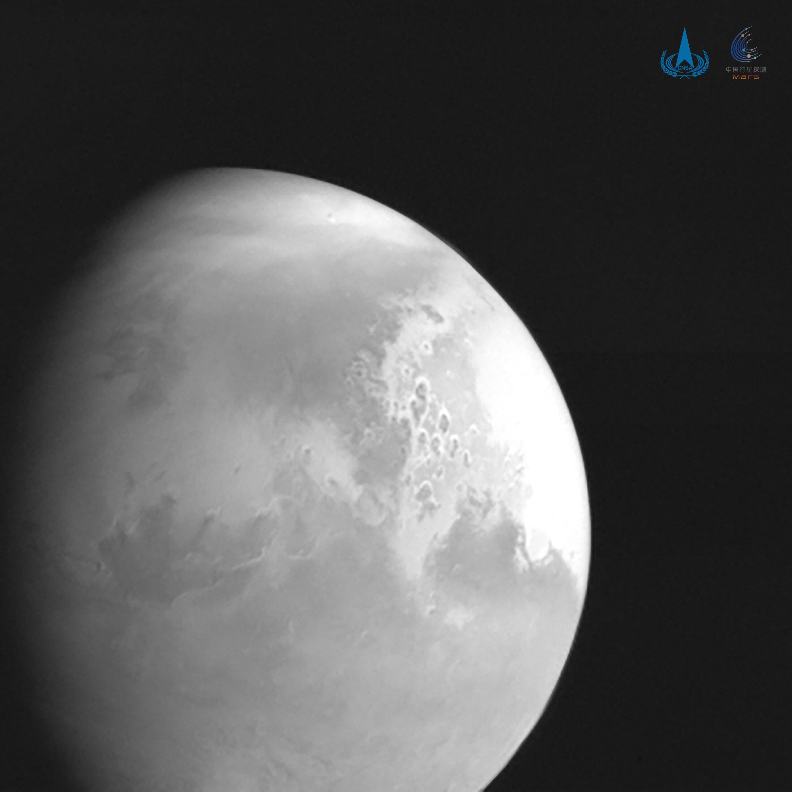 chińsja misja Tianwen-1 Mars orbita