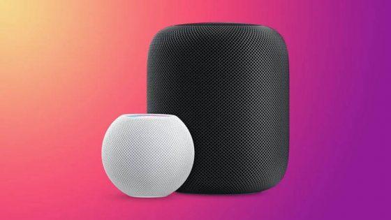 Apple HomePod Mini aktualizacje