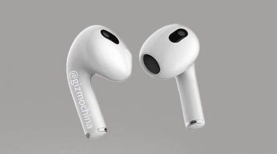 chińskie podróbki AirPods 3 słuchawki bezprzewodowe Apple