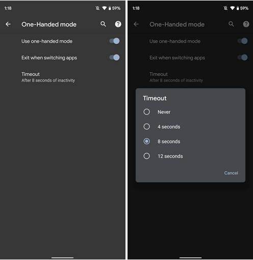 aktualizacja Android 12 DP2 nowości co nowego tryb jednej ręki