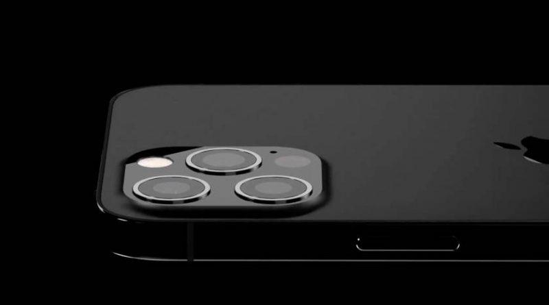 kiedy Apple iPhone 13 Pro 2021 mniejszy notch lepszy skaner LiDAR czarny mat