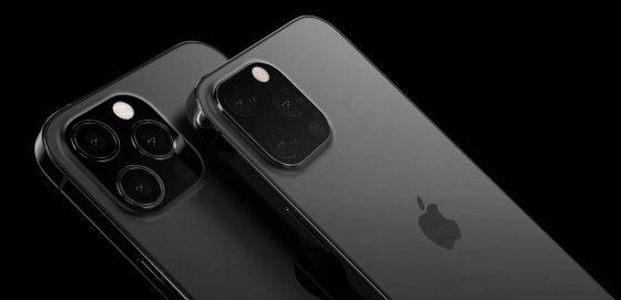 kiedy Apple iPhone 13 Pro 2021 mniejszy notch lepszy LiDAR czarny mat