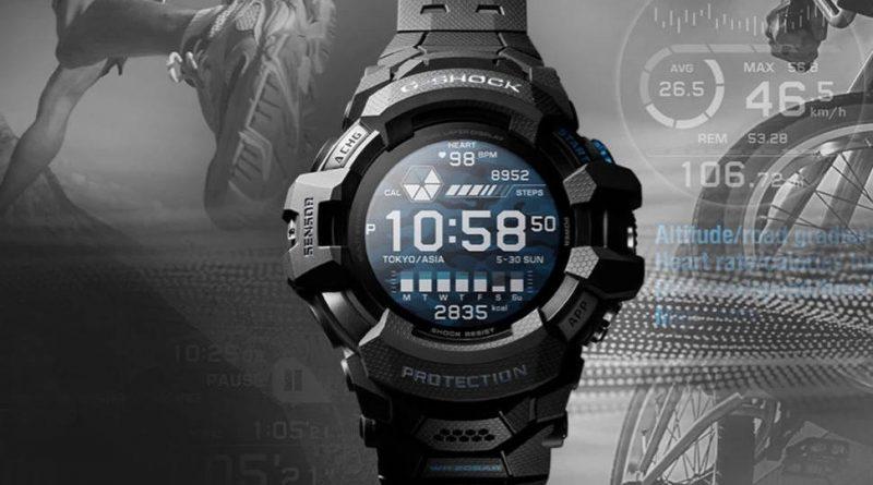 smartwatch G-Shock Casio G-Squad Pro GSW-H1000 cena Wear OS specyfikacja techniczna