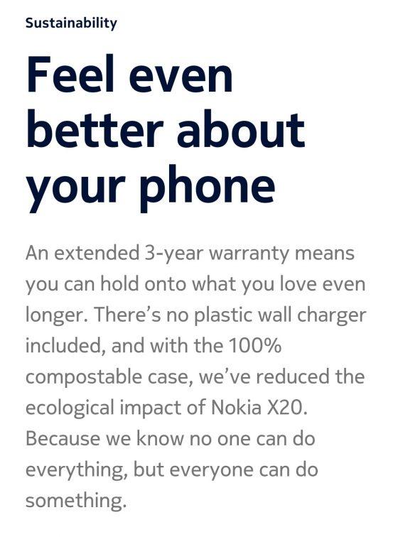 jaka ładowarka dla Nokia X20