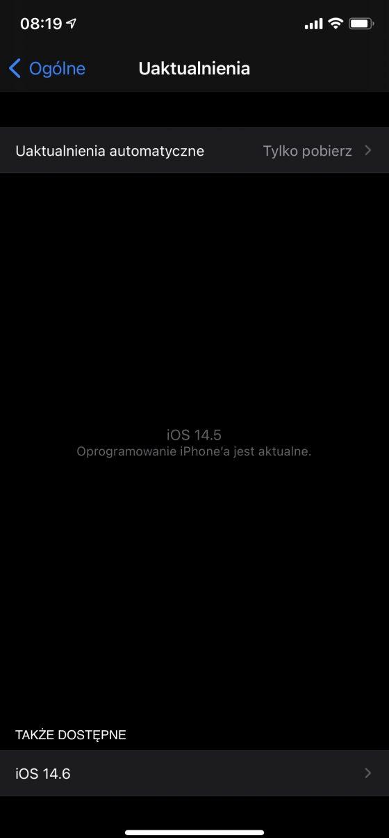 kiedy aktualizacja iOS 14.6 beta 1 macOS 11.4 beta watchOS 7.5 beta iPadOS 14.6 beta co nowego nowości