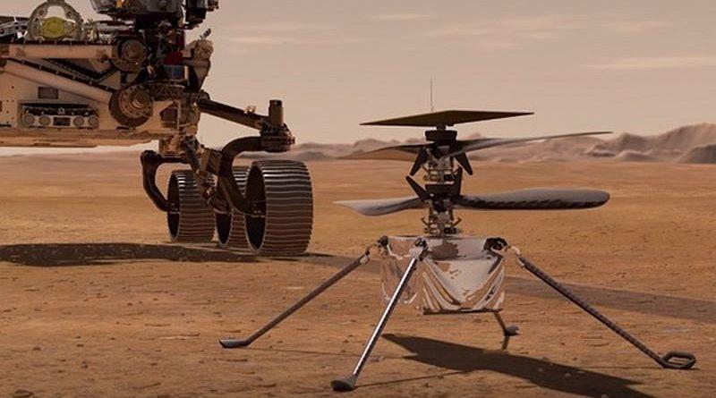 helikopter Ingenuity NASA Mars