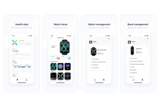Oppo Watch Oppo Band jak połączyć z iPhone iOS wsparcie Apple Zdrowie
