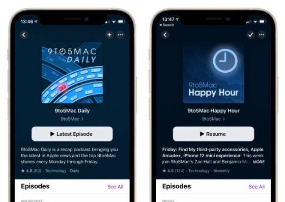 aktualizacja kiedy iOS 14.5 Apple iPhone Podcasty