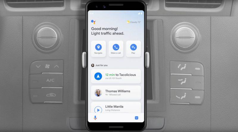 Asystent Google tryb samochodowy jak włączyć w Polsce Google Maps