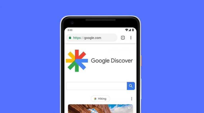 testy Discover Android 12 Google beta