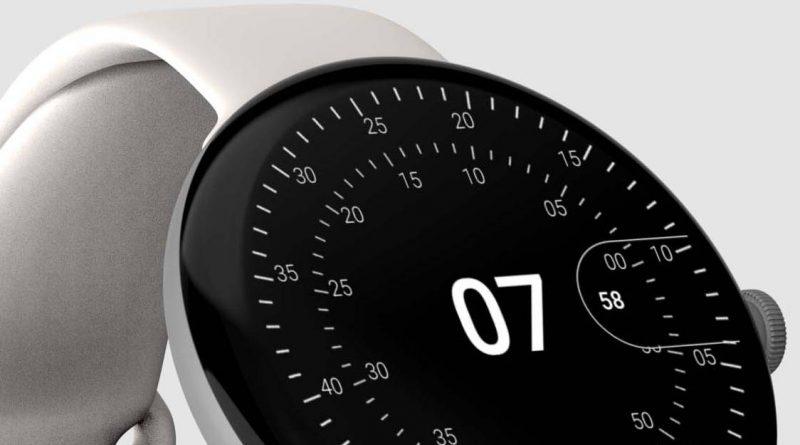 smartwatch Google Pixel Watch Wear OS rendery specyfikacja