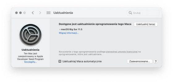 kiedy aktualizacja macOS 11.3 RC Big Sur iOS 14.5 watchOS 7.4 Apple Mac co nowego nowości zmiany opinie