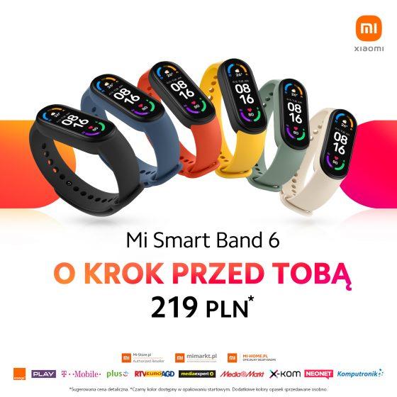 przedsprzedaż Xiaomi Mi Band 6 cena flash sale promocja