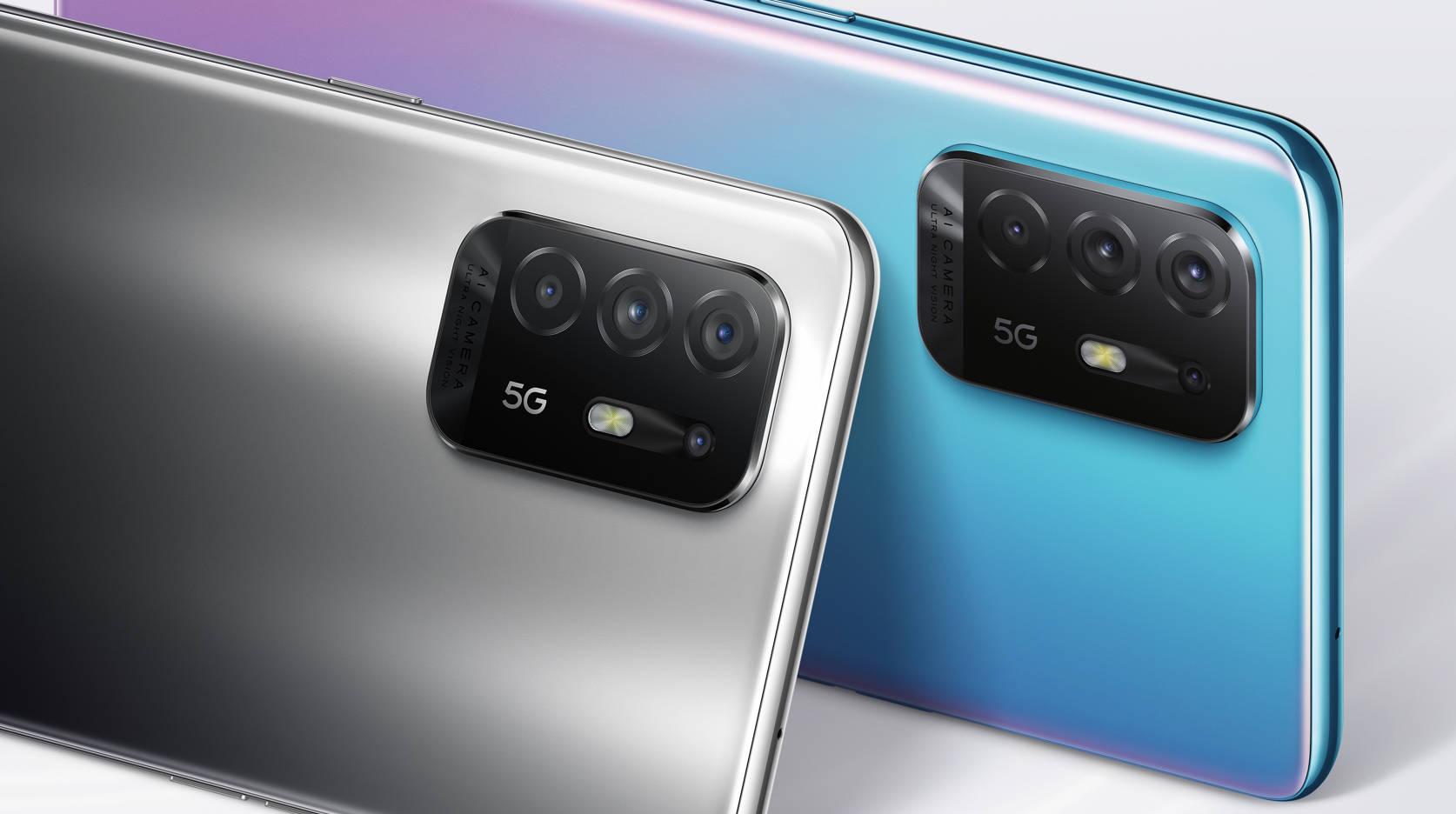 Oppo A94 5G Smartphone rear camera setup