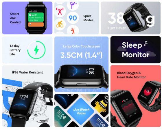 premiera Realme Watch 2 cena specyfikacja techniczna funkcje opinie gdzie kupić najtaniej