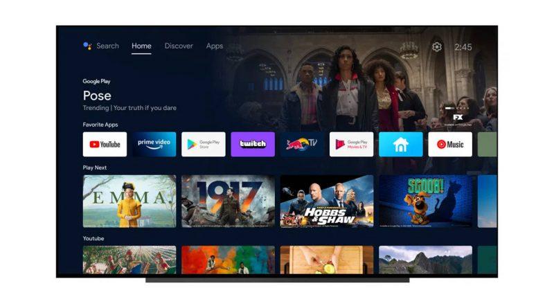 telewizory Sony bravia Android TV Google Discover Odkrywaj