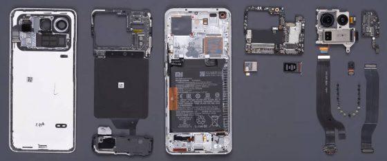 rozbiórka Xiaomi Mi 11 Ultra