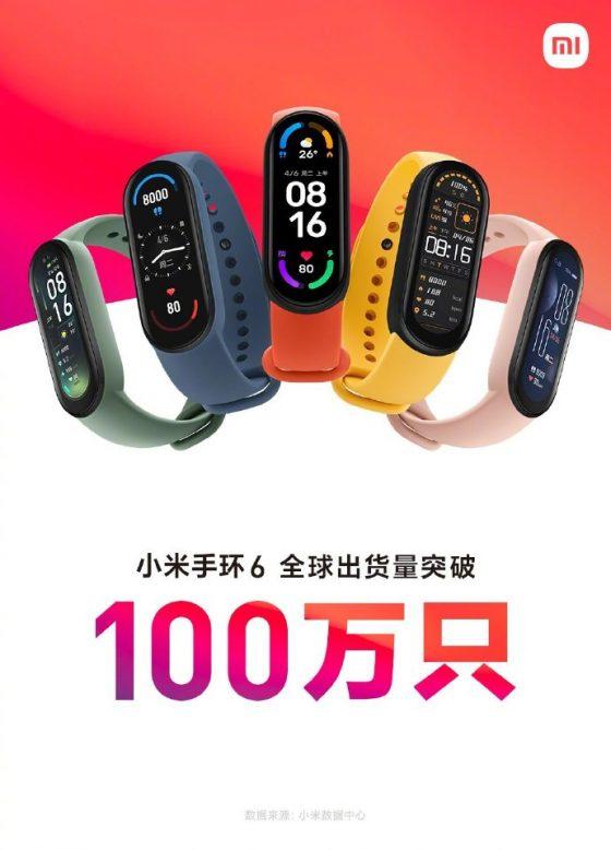 opaska Xiaomi Mi Band 6 cena Lei Jun sprzedaż