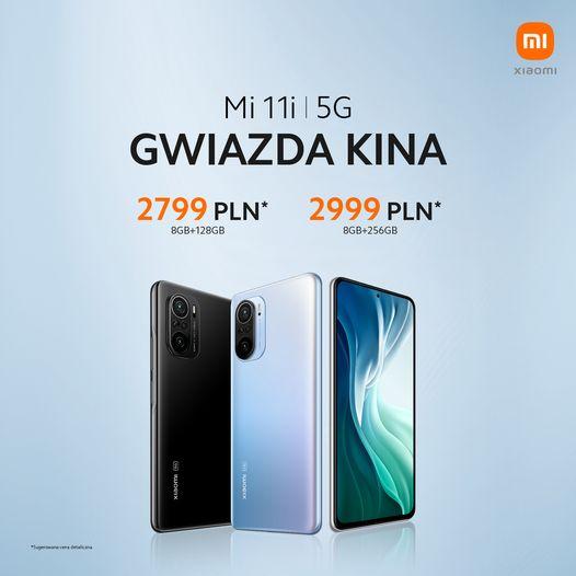 kiedy przedsprzedaż Xiaomi Mi 11i cena opinie gdzie kupić najtaniej