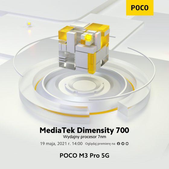 kiedy data premiery POCO M3 Pro cena specyfikacja techniczna Realme 8 5G