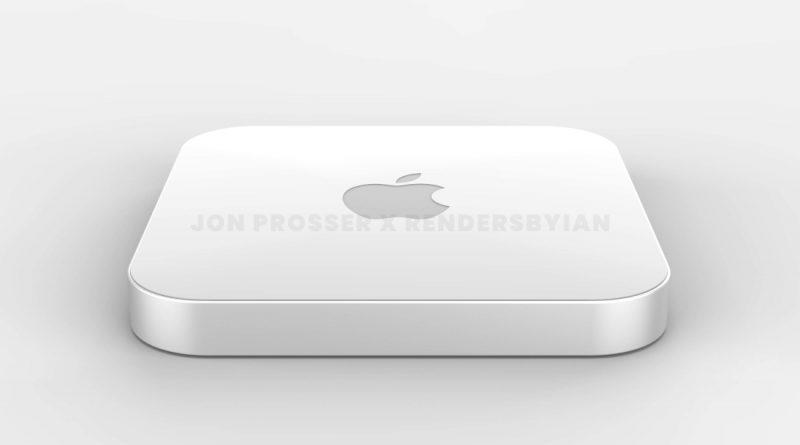 nowy Mac Mini Apple M1X rendery specyfikacja techniczna plotki przecieki