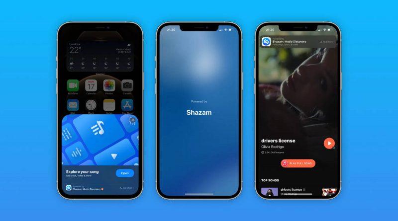 aktualizacja iOS 14.6 funkcje Shazam App Clip