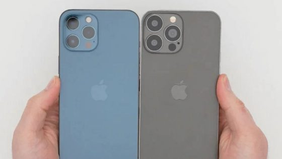 makieta Apple iPhone 13 Pro notch aparat