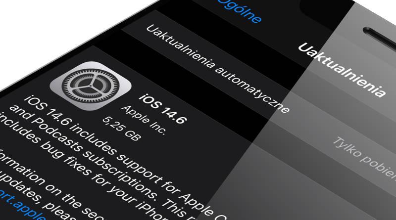 aktualizacja iOS 14.6 iPadOS 14.6 co nowego nowości wykaz zmiany opinie czy warto instalować Apple iPhone