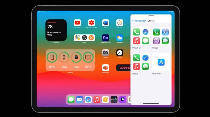 aktualizacja iPadOS 15 zmiany nowości koncept apple