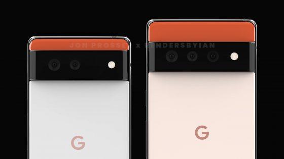 kiedy Google Pixel 6 Pro cena plotki przecieki design rendery specyfikacja techniczna
