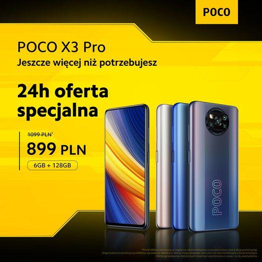 promocja POCO X3 Pro cena opinie gdzie kupić najtaniej w Polsce