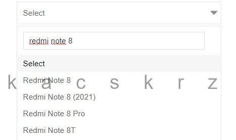 kiedy Xiaomi Redmi Note 8 2021 specyfikacja techniczna plotki przecieki
